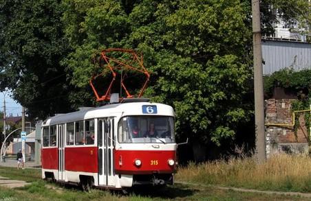 Деякі харківські трамваї маршрути змінять свої маршрути