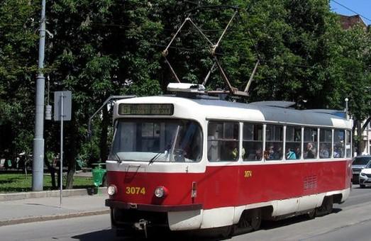 Деякі трамваї курсуватимуть Харковом за іншим маршрутом