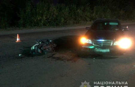 Внаслідок ДТП у Московському районі Харкова постраждав водій скутера