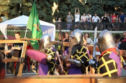 В Харкові пройшов лицарський турнір