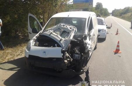 В ДТП під Харковом постраждали дві людини