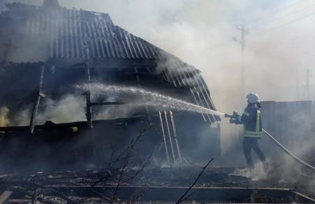На Харківщині дві людини загинули внаслідок пожеж