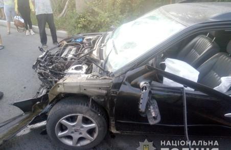 В Харкові внаслідок ДТП постраждали дві людини