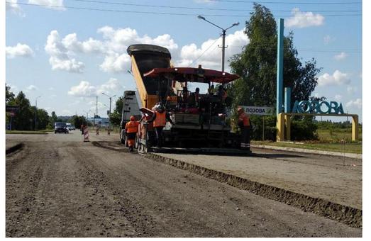 Світлична: На трасі Мерефа – Лозова - Павлоград вже виконано більше 90% робот