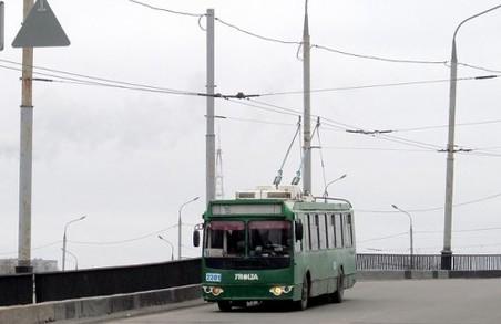 Харків'ян чекають зімни в схемах тролейбусного руху
