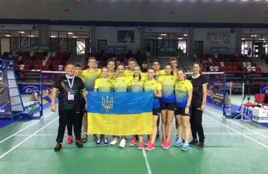 Харків'яни стали бронзовими призерами чемпіонату Європи з бадмінтону