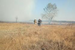 На Харківщині локалізована пожежа на військовому полігоні