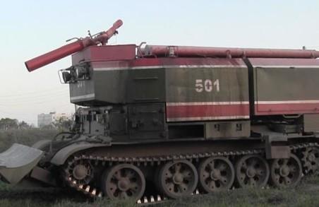 У ліквідації пожежі на торф'яниках Харківщини задіяно додаткові сили
