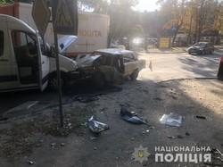 В Харкові внаслідок аварії постраждали четверо людей (фото)