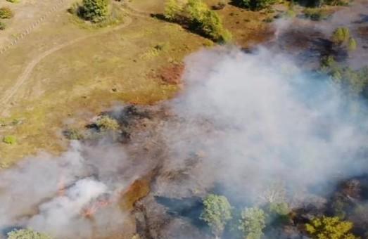Пожежу на торф'яниках Харківщини ліквідують 14 одиниць спецтехніки