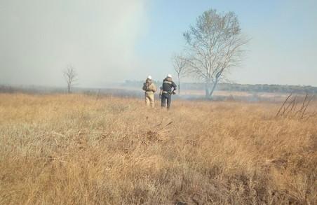 Ліквідація пожежі на Харківщині триває от уже кілька днів
