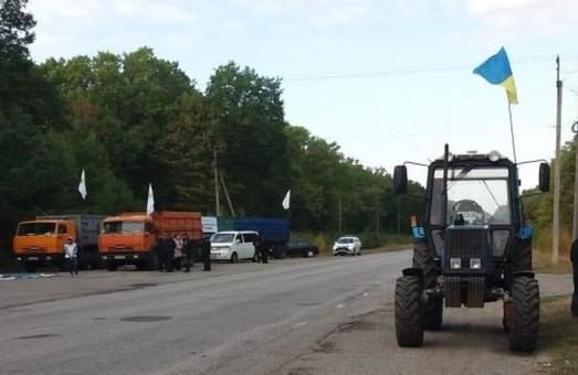 У Харківській області аграрії протестували проти продажу землі