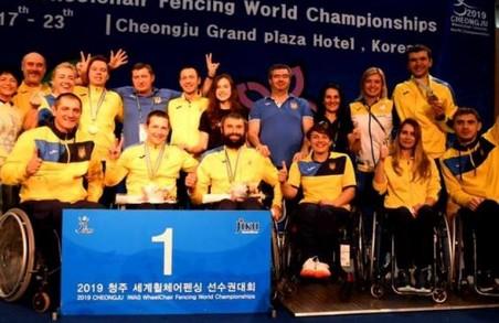 Харківські паралімпійці-фехтувальники завоювали медалі чемпіонату світу