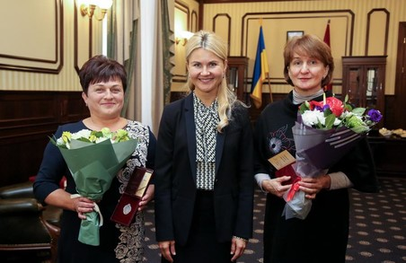 Світлична передала державні нагороди медикам Дергачівського та Краснокутського районів (ФОТО)