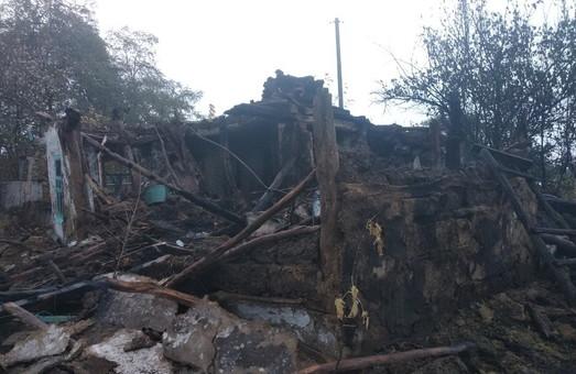 На Харківщині необережне поводження з вогнем привело до пожежі