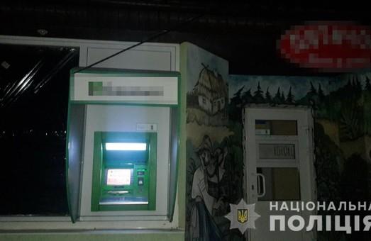 В Харкові був пошкоджений банкомат
