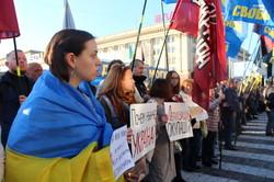 «Ні капітуляції!»: Як харків'яни протестували проти «Формули Штайнмаєра» (фото)