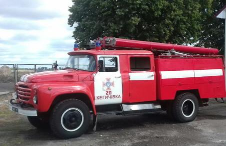На Харківщині внаслідок пожежі загинула людина (фото)