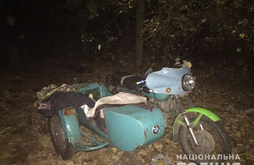 На Харківщині сталася смертельна аварія за участі мотоцикліста