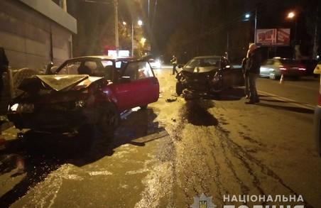 В Харкові сталася аварія, постраждали чотири людини