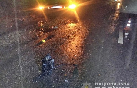 На Харківщині пенсіонер загинув під колесами вантажівки