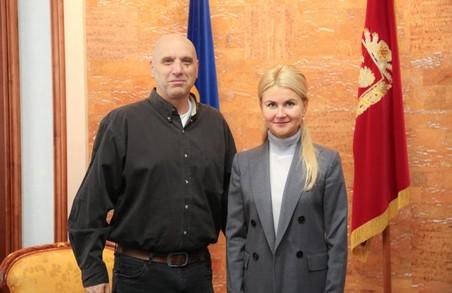 Світлична зустрілася з президентом Єрусалимського фонду Шаєм Дороном