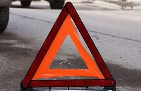 В Харкові сталася аварія за участі поліцейського