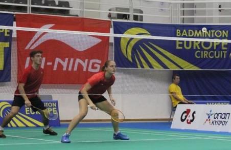 Харківські бадмінтоністи – срібні призери етапу Кубка Європи