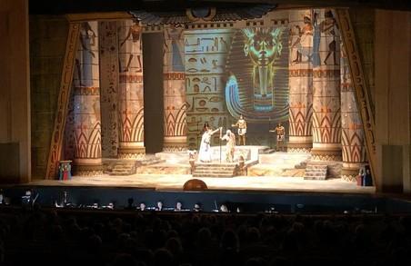 Тиждень італійської культури у Харкові відкрився оперою «Аїда» Джузеппе Верді