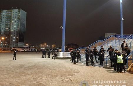 Футбольний матч у Харкові обійшовся без грубих порушень