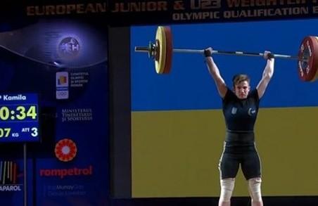 Харківська штангістка була визнана чемпіонкою Європи