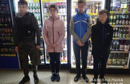 В Харкові група підлітків намагалася пограбувати кіоск