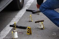 В Харкові підозрюваний в стрілянині біля супермаркету підірвав себе (ФОТО)