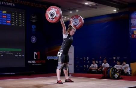 Харків'янка стала чемпіонкою Європи з важкої атлетики