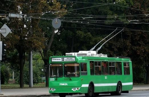 Деякі харківські тролейбуси змінили свої маршрути