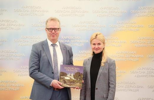 Світлична обговорила з делегацією КМЄС реалізацію спільних проектів на Харківщині