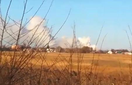 На арсеналі в Балаклії знову лунали вибухи (ВІДЕО)