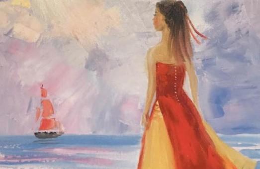 «Бузок» презентує персональну виставку Вікторії Черняєвої «Пурпурові вітрила»