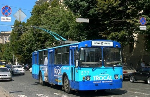 З понеділка на маршрут виходить тролейбус, який курсуватиме з вулиці Рудика до «Наукової»