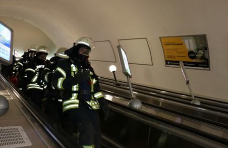 Тактико-спеціальні навчання у Харківському метро