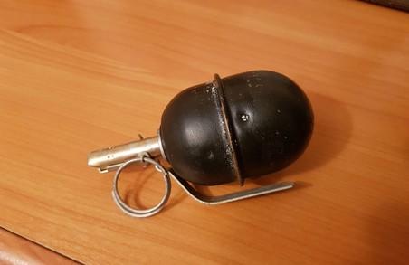 У Харкові на офіс ОПЗЖ повісили учбову гранату