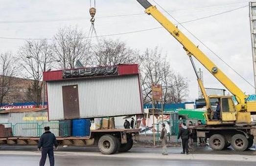 У Харкові до кінця року демонтують дві з половиною тисячі кіосків