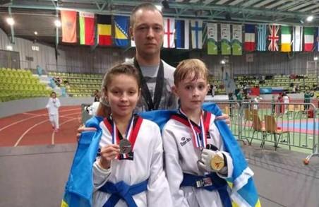 Юні тхеквондисти здобули медалі чемпіонату Європи