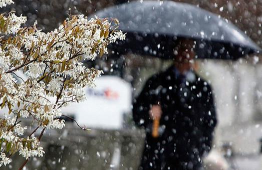Дощ і мокрий сніг: У Харкові на вихідних очікується погіршення погоди