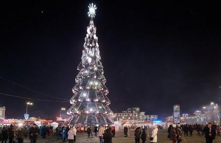 У Харкові відкрили новорічну ялинку (ФОТО)