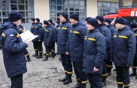 Випускники навчального пункту склали присягу та одразу поповнили ряди харківських рятувальників (ФОТО)