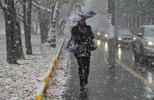 Дощ і мокрий сніг: харків'ян попередили про погіршення погоди на вихідні