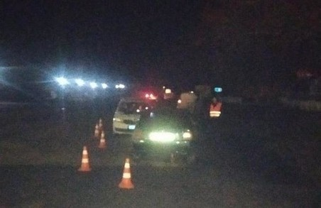На Харківщині під час переслідування п'яного водія травмовано поліцейського (ФОТО)