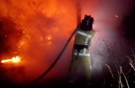 Під Харковом пожежа забрала життя 48-річного чоловіка