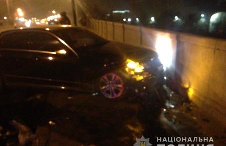 ДТП у Харкові: в лобовому зіткненні трьох іномарок травмовано троє жінок